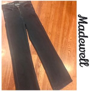 Madewell Widelegger Dark wash Jeans🚫Firm